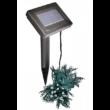 100 LED-es napelemes kerti fényfüzér, színes (20 m)