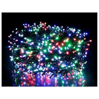 750 LED-es fényfüzér 8 féle világítási móddal, időzítővel (színes, 15 méter)