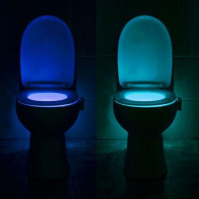 Grundig dekor WC világítás