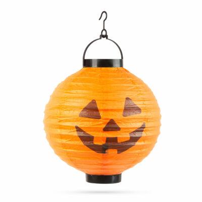 Halloween-i LED-es lampion (1 LED, Tök)
