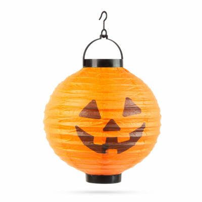 Halloween-i LED-es lampion (1 LED, Tök)