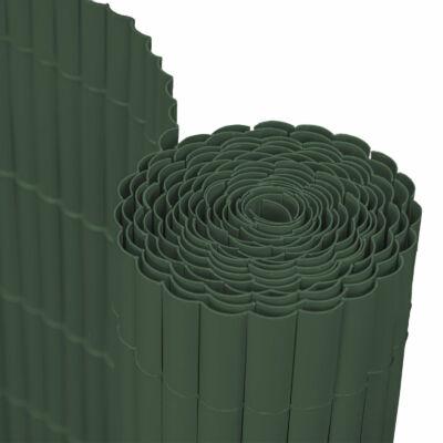 Belátásgátló műnád (sötétzöld, 1 x 3 m)