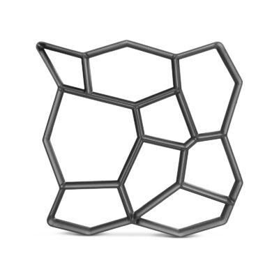 Műanyag térkősablon (kőminta, 50 x 50 x 4,5 cm)