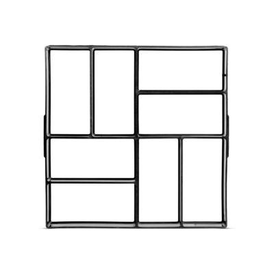 Műanyag térkősablon (40 x 40 x 4 cm)