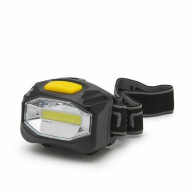 Nagy fényerejű COB LED fejlámpa (elemes)