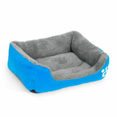 Kutyafekhely (L méret, 65 x 50 cm, kék)