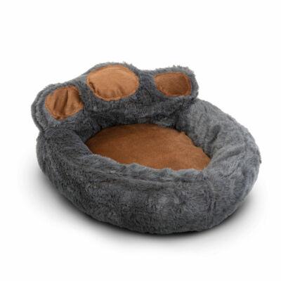 Mancs alakú kutyafekhely (L méret, Szürke, barna)