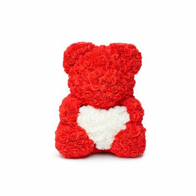 Rózsamaci (Piros, fehér, 25 cm)
