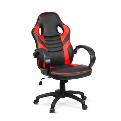 Gamer szék karfával (piros)
