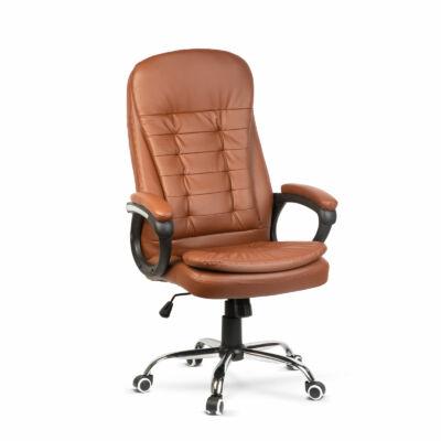 Irodai szék karfával (barna)