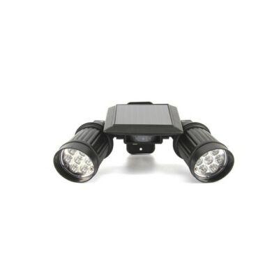 Két ágú szolár LED lámpa mozgásérzékelővel