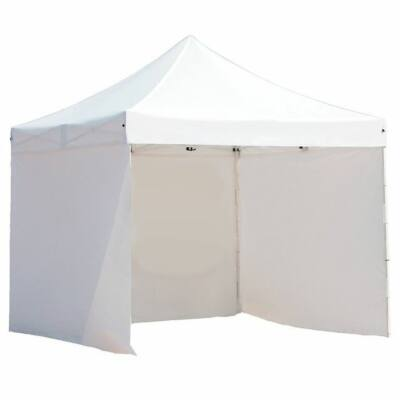 Pavilon ponyva + oldalfal (fehér 3 x 3m)