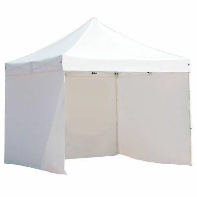 Pavilon ponyva + oldalfal (fehér 2.9 x 2.9 m)
