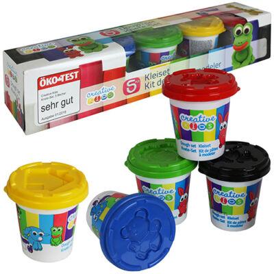 5 színű gyurma szett (5x140 gramm)