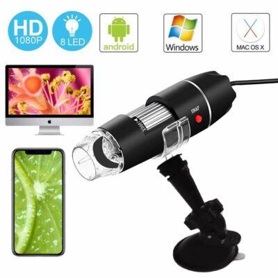 USB-s Digitális mikroszkóp tartó álvánnyal- Nagyítsd fel az élményt!