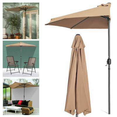 Balkon napernyő (bézs)