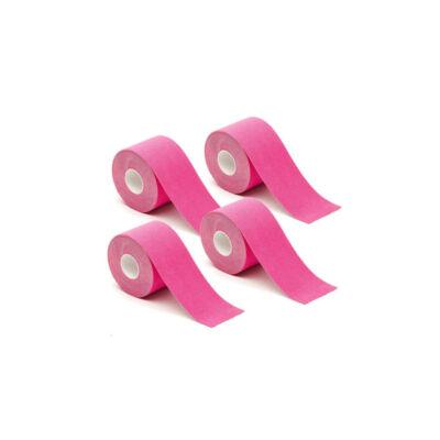 Kineziológiai szalag 4db-os (rózsaszín)