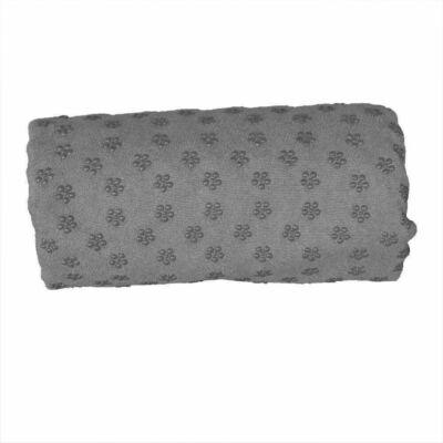 Csúszásgátlós jóga törölköző, ajándék táskával (szürke)