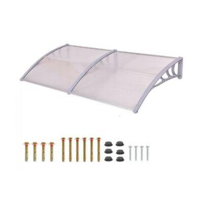 Műanyag előtető (240x90 cm, fehér)