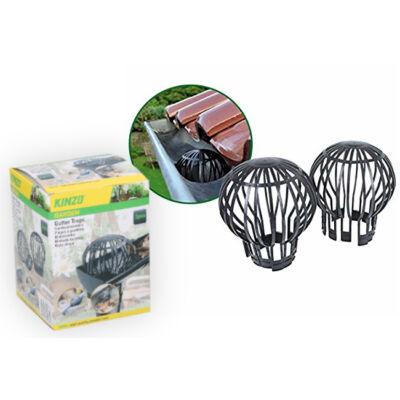 Kinzo ereszvédő műanyag kosár (2 darabos csomag)
