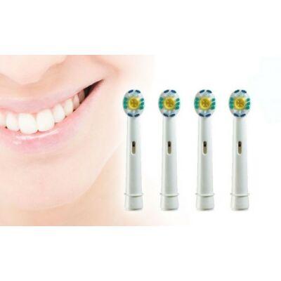 4 db-os 3D fogkefe fej Oral-B elektromos fogkeféhez