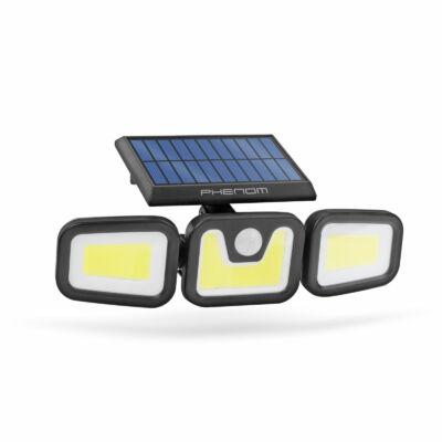 Mozgásérzékelős szolár reflektor (karos, forgatható, 3 COB LED)