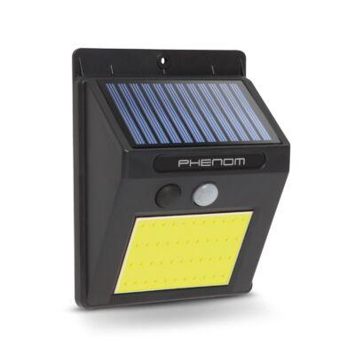Mozgásérzékelős szolár reflektor (fali, COB LED)