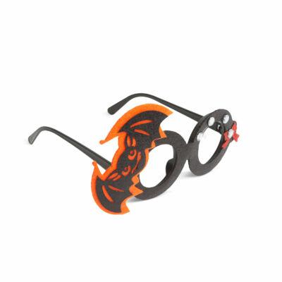 Halloween-i party szemüveg (denevér)