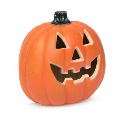 Halloween-i LED-es tök (32 x 30 cm
