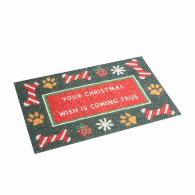 Karácsonyi lábtörlő - Your Christmas wish is coming true (60 x 40 cm)