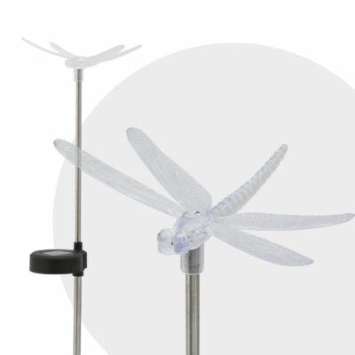 LED-es napelemes lámpa (szitakötő)