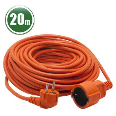 Hálózati lengő hosszabbító (3 x 1,0 mm2, 20 m)