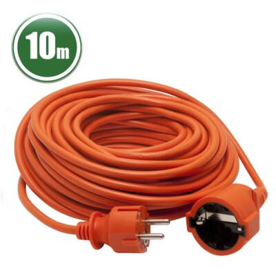 Hálózati lengő hosszabbító (3 x 1,0 mm2 10 méter)