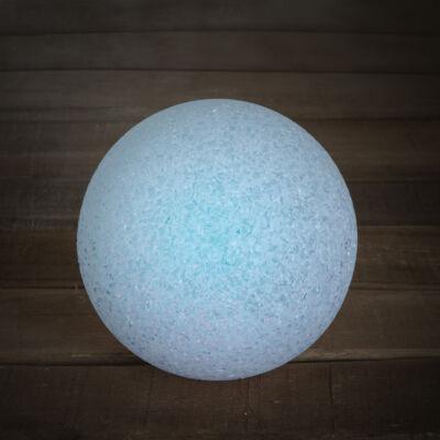 LED kristály hógolyó (12 cm)