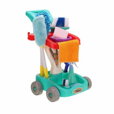 Játék takarító készlet (kék)