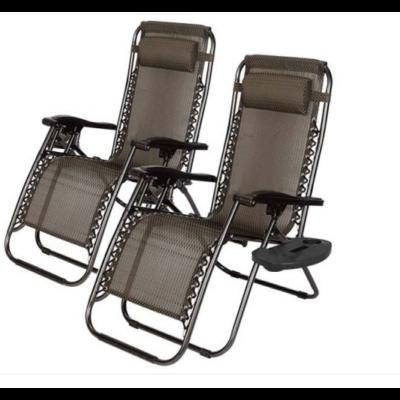 Zéró gravitáció kerti szék (ajándék pohártartóval, 2 db)