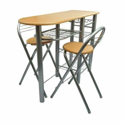 Konyhai bárszett (2 db szék és asztal)