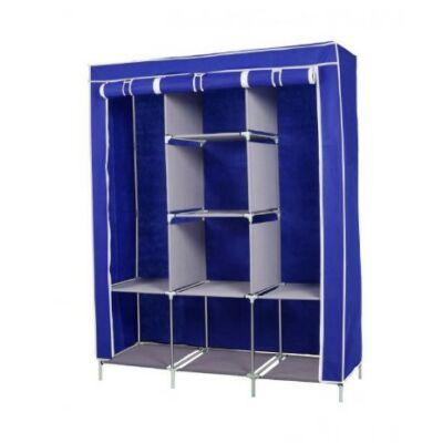 Mobil ruhás szekrény (kék)