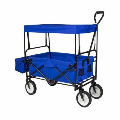 Összecsukható kocsi tetővel (kék)