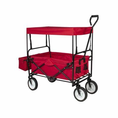 Összecsukható kocsi tetővel (piros)