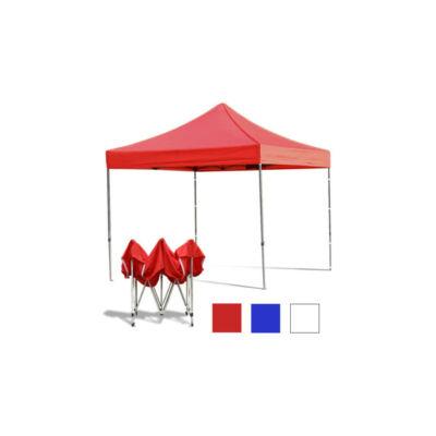 Összecsukható kerti pavilon (2,9 x 2,9 méter, piros)