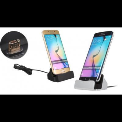 Micro USB asztali töltő (választható színben)